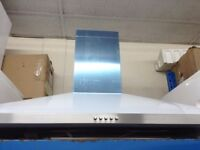 Black or stainless steel leisure cooker hood new graded 12 mth gtee only £60