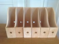 Plywood Ikea Magazine File Holders