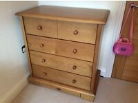 Boori County Drawer Chest with Change Table.