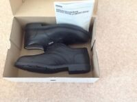 Men's new size steel toecap safety shoes