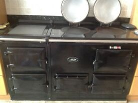 4 Oven 13 amp Electric Black Aga with Aims control