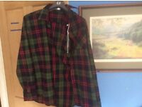 Nice Quality green chequered shirt XXL or XL. Unworn with labels. UnwantedJacamo purchase