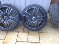 22 inch Overfinch Olympuss Alloys (in good condition) £400..ono See photos