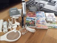 Nintendo wii good condition comes with games