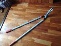 Lawn Shears - long handled Wilkinson Sword