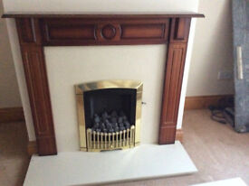 FIRE SURROUND WITH GAS FIRE (AS PER PIC)