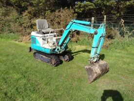 Mini digger for sale low hours