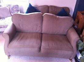 Two x 2 Seater Sofas