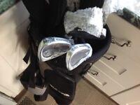 Full set of Daytona golf clubs new with bag