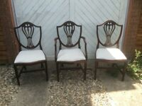redwood dinning chairs