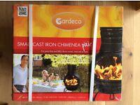 Gradeco Cast Iron Chimnea - NEW IN BOX