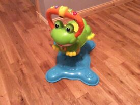 Vtech bounce and discover frog