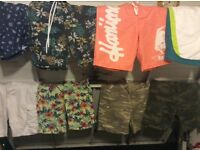 Assorted mens/boys clothes bundle