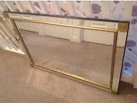 Modern Bevelled Glass Mirror