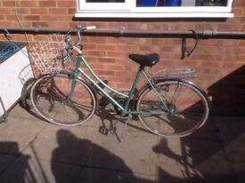 Raleigh caprice 3 speed ladies bike