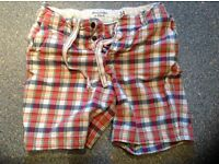 "ABERCROMBIE & FITCH shorts size 34"" waist. Immaculate. 2 X front and rear pockets. Bargain."