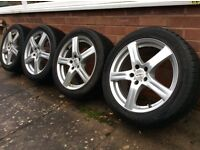"17"" Enzo alloys with winter tyres (235/45 R17 97V)"