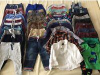 Bundle of boys clothes 9-18 months