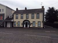 First Floor Two Bedroom Semi-Furnished Flat, Aghagallon with Private Parking