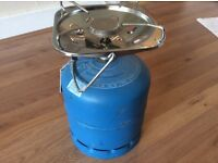 Camping butane gas bottle camping stove