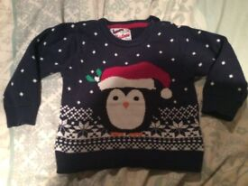Boys Christmas jumper 18-24 months / 1.5 - 2 years