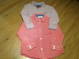 Ralph Lauren and white company shirts size 4-5