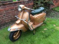 Lambretta golden special. Italian. Ready to ride.