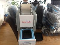 Enterpack EHM-200 Sealing Machine + 2 x Weld Film + Black Trays( Approx 2200 of them)