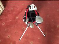 US Kids Golf Club Set with Stand Bag