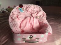 Babies hand knitted clothes