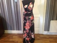 STUNNING. LONG. DRESS .. BRAND NEW WITH TAGS.. Size 10/12