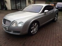 005 05 Bentley continental gt mulliner coupe cheapest in country,silver,full mulliner spec,