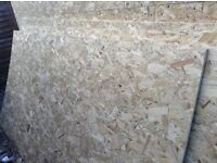 6 sheets of 8 x 4 12.5mm osb sterling board