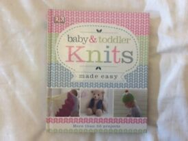 Baby And Toddler Knits Made Easy Book, knitting book