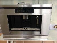 AEG Electrolux espresso machine integrated new