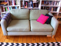 Modern and funky two-seater sofa