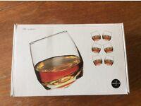 Sagaform 'bar' pack of 6 whiskey glasses