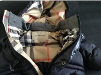 Genuine Burberry baby boys ski suit immaculate 6m+