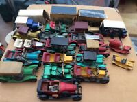 17 RARE MATCHBOX YESTERYEARS CARS BENTLEY ROLLS ROYCE LESNEY ETC SEE PHOTOS