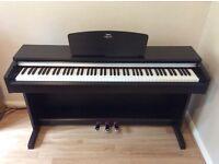 Yamaha Digital Piano (Full Size). Model Arius YDP141