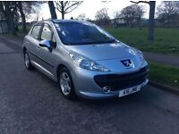 *2007* PEUGEOT 207 * 1.4 SPORT 16V * 5DR * 1 YEAR M.O.T * SERVICE HISTORY * PRIVATE REG * IMMACULATE