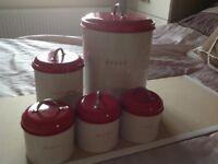 Next Kitchen canister set