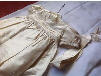 Brand new christening dress 3-6 months cost £90 sell £25 my shop clashed down last couple left £25