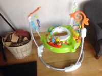 Jumparoo fisher price First class condition seat in washing machine first come will take it