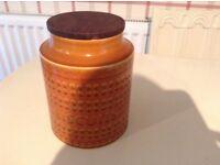 Hornsea saffron biscuit container