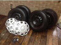 Vauxhall Vivaro/Renault traffic wheels and tyres. 205/65-16