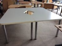 Grey colour Conferrence Table