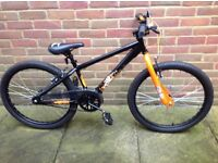 """Neco 24"""" Boys """"X-Rated Exile Dirt Jump Bike"""" from Halfords unused"""