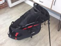 Taylormade audi stand bag. With rain hood