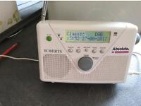 DAB FM ROBERTS RADIO RDS MAINS OR BATTERIES